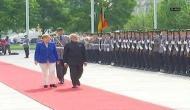 PM Modi accorded ceremonial reception in Berlin