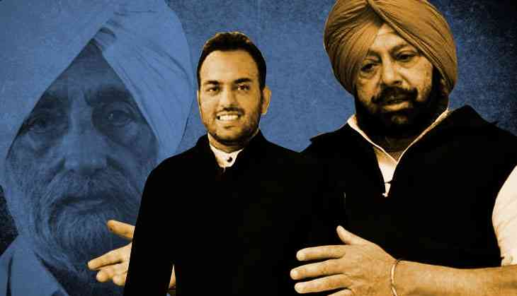 Old tricks: Punjab Congress bends rules to make Beant Singh's grandson DSP