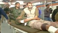 Four police personnel injured in grenade attack near J-K bank in Sopore