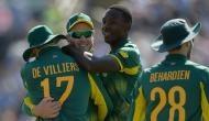 चैंपियंस ट्रॉफी शुरू होने से पहले दक्षिण अफ्रीका ने लगाई स्पेशल 'हैट्रिक'