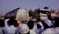 Maharashtra: Milk spilled on road as farmers go on strike