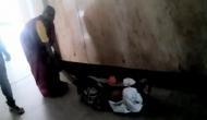 Karnataka: Denied stretcher, wife drags ailing husband
