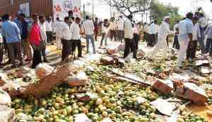 Maharashtra farmers call off strike after talks with Fadnavis, only to say it's back on