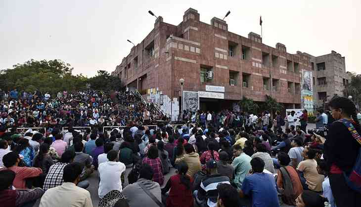 Students punished for Najeeb protest say JNU 'diverting attention'