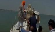 UP: BJP MP Priyanka Rawat seen tossing plastic bottle into river