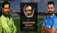 Champions Trophy 2017: मैच से पहले ही टीम इंडिया से चित हुआ पाकिस्तान