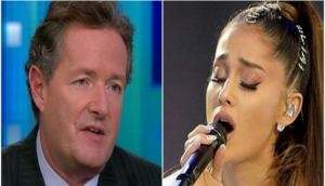 I misjudged you: Piers Morgan apologizes to Ariana Grande