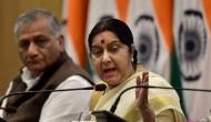 Trump's comments on India and Paris Agreement not 'fact': Sushma Swaraj