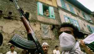 Kashmir has a long history of armed rebellions, argues new book