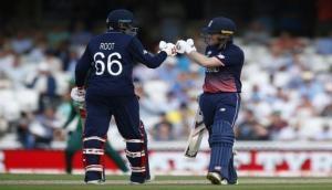Hosts England eye Champions Trophy semi-final spot