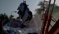 जयपुर: नमक से भरा ट्रक कार पर गिरा, 5 की मौत