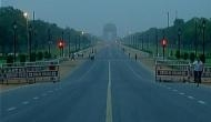 Cloudy Wednesday morning in Delhi