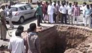 भगवान शिव के दर्शन के लिए खोद डाला नेशनल हाईवे