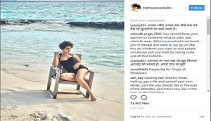 'Dangal' fame Fatima Sana Shaikh gets slammed for wearing swimsuit during Ramzan