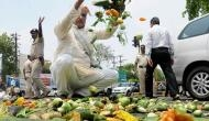 As perishable produce begins to rot, Maha farmers' strike loses steam