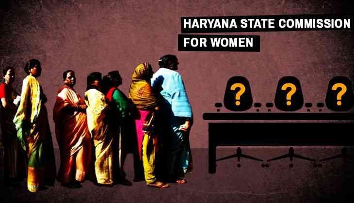 Number of members in Haryana women's commission: ZERO