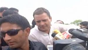 Mandsaur: Rahul Gandhi meets kin of deceased farmers