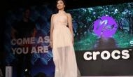 Crocs launches SS'18 collection with Gauhar Khan walking the ramp