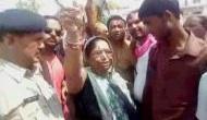 Watch: Congress MLA Shakuntala Khatik incites mob to set police station on fire