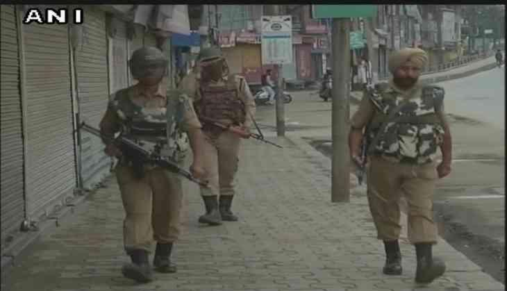 Restrictions in J&K to halt separatist protest