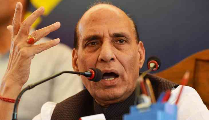 What is BJP and Rajnath Singh's 'permanent resolution' for the Kashmir issue?