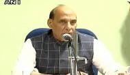 Rahul Gandhi didn`t comply with security arrangements in Gujarat: Rajnath