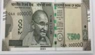 RBI introduces new batch of Rs 500 notes