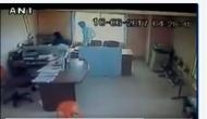 Karnataka: CCTV camera captures Govt. contractual employee assaulting woman colleague
