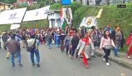GJM supporters set ablaze GTA office, ransack panchayat office