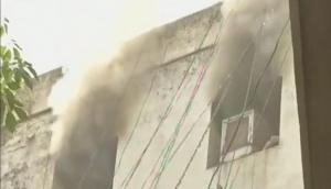 Sales Tax office in Lucknow catches fire