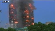 लंदन: 24 मंज़िला रिहाइशी इमारत में भीषण आग, सैकड़ों फंसे