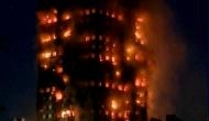 London fire: Man catches baby dropped from 10th floor of tower