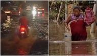 Heavy rain causes waterlogging, flood situation in Mumbai, Manipur
