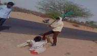 राजस्थान: मनोरोगी महिला की पाइप से पिटाई, लगवाए धार्मिक नारे