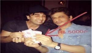 SRK pays Ranbir Rs. 5000 for 'Jab Harry Met Sejal' title