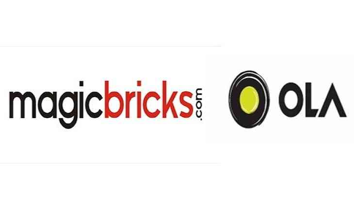 Magicbricks partners with Ola for free site-visits   Catch News