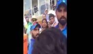 वीडियो: पाक फैंस ने कोहली से पूछा बाप कौन? मारने दौड़े शमी