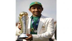 Sarfraz hopes Champions Trophy win will bring international cricket to Pak