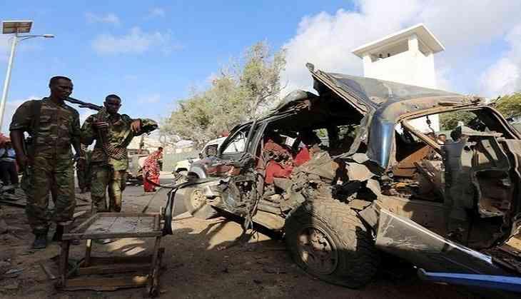Somalia blast kills at least 15, police say