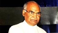 Have no political affiliation, President is above politics: Ram Nath Kovind