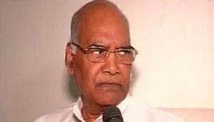 Kovind resigns as Bihar governor, West Bengal governor Tripathi to replace him