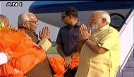 PM Modi arrives in Lucknow for International Yoga Day celebrations
