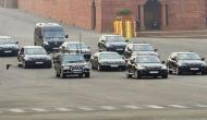 ट्रैफिक पुलिस अफसर ने रोका राष्ट्रपति प्रणब मुखर्जी का काफिला