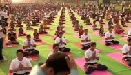 Campaign to raise awareness on benefits of yoga at work