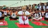 International Yoga Day: PM Modi promotes body positivity