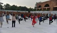 From 'surya namaskar' to 'asanas': When students got yoga break
