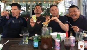See Iron Man, Doctor Strange and Hulk in new Instagram still