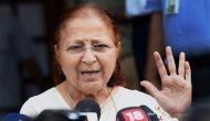 आडवाणी के बाद अब सुमित्रा महाजन की बारी ! खुद ही कर दिया चुनाव लड़ने से इंकार