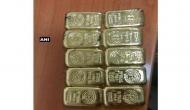 Mumbai: 10 gold bars recovered from Jet Airways flight