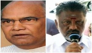 Presidential polls: AIADMK faction led by Panneerselvam supports Kovind